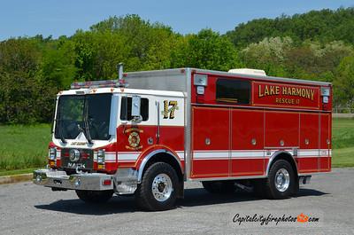 Lake Harmony Rescue 17: 1994 Mack MR/Swab (X-Ft. Washington, PA) (** sold to Ramey, PA in 2019 ***)