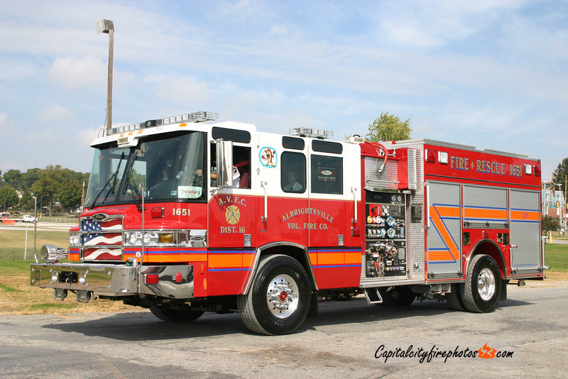 Albrightsville Engine 1651: 2006 Pierce Quantum 1500/750
