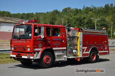 Lehigh & Lausanne Engine 1911: 1996 Mack/KME 1250/1000 (X-Tamaqua, PA)