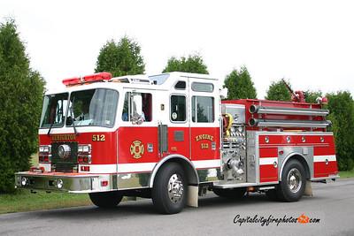 Lehighton Engine 512: 1994 KME 1500/500