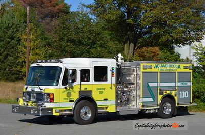 Aquashicola Engine 110: 2012 American LaFrance Eagle 1250/750 (X-Hughestown, PA)