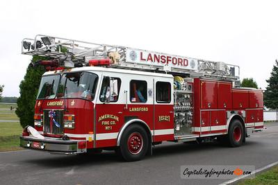 Lansford Truck 1521: 1992 E-One 1500/500/40 75'