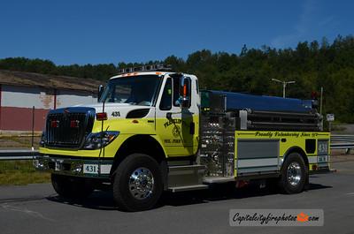 Franklin Township Tanker 431: 2012 International/KME