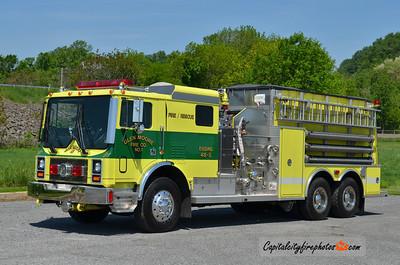 Glen Moore Engine 48-5: 1992 Mack MR/4 Guys 1250/3000