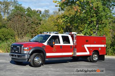 Keystone Valley Fire Co. (Atglen) Tac 8: 2009 Ford F-550/Reading 300/300