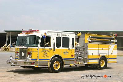 Downingtown Engine 45: 1998 Spartan/RD Murray 1750/750