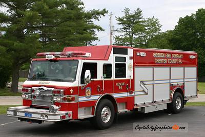 Goshen Rescue 54: 2009 Pierce Velocity 'PUC' 500/300