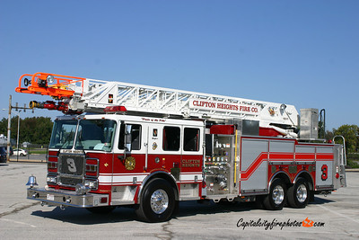 Clifton Heights Truck 3: 2008 Seagrave 1500/500 100'
