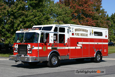 Brookhaven X-Rescue 52: 1993 Spartan Gladiator/EEI ** sold to Potter FD, Middlesex, NY in 2016 **