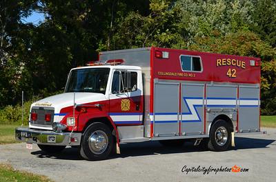 Collingdale Rescue 42: 1997 Freightliner/Central States