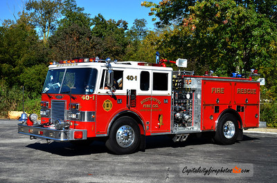 Boothwyn Fire Co. (Upper Chichester Township) Engine 40-1: 1989 Pierce Lance 2000/500 (X-Clinton, MD)
