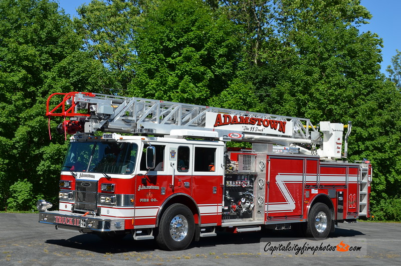 Adamstown Truck 11: 2012 Pierce Saber 1500/500 75'