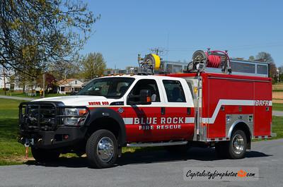 Blue Rock Fire Rescue (Highville) Brush 903: 2011 Ford F-550/Custom Body Works 250/300/30