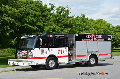 Bainbridge Fire Co., Conoy Township Rescue 71: 2018 Rosenbauer Commander 1500/720/30