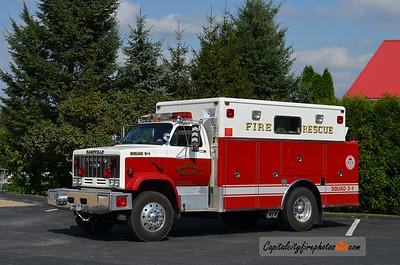 Bareville Fire Co., Leola Squad 31-1: 1985 GMC/Pierce (X-Mount Joy, PA)