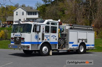 Fountain Hill Engine 3411: 1993 KME 1000/1000/60