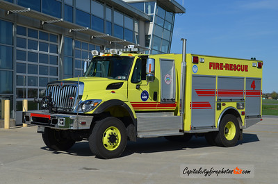 Lehigh Valley International Airport Rescue 4: 2010 International/KME 350/500/60