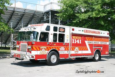 Greenawalds Rescue 1141: 2006 Spartan/KME