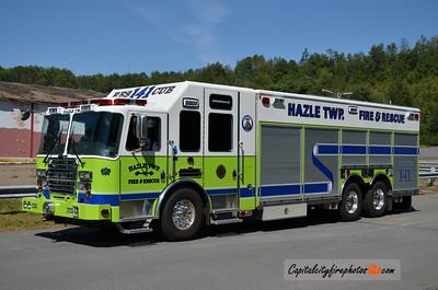 Hazle Township Rescue 141: 2013 KME Predator