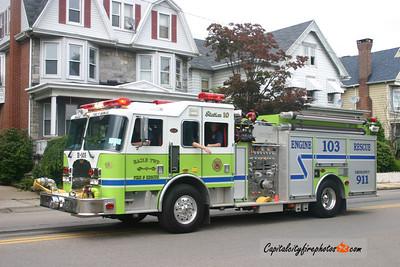 Hazle Township Engine 103: 2004 KME 2250/750