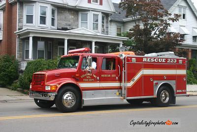 Dorrance Township Rescue 223: 1992 International/??