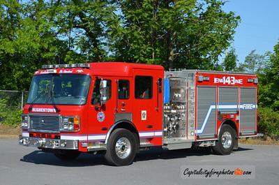Highestown Engine 143: 2012 American LaFrance Eagle 1250/750
