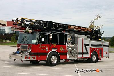Hanover Township Truck 4: 2008 KME Predator 2000/500 75'