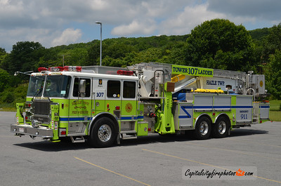 Hazle Township Tower Ladder 107: 2008 Seagrave 95' Aerialscope