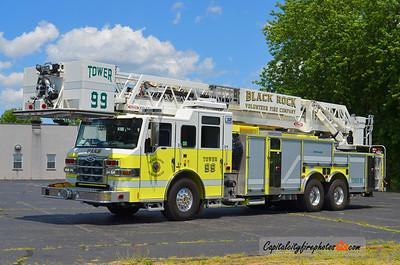 "Black Rock Tower 99: 2011 Pierce Velocity ""PUC"" 1500/400 100'"