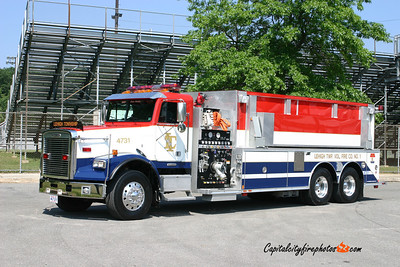Lehigh Township Tanker 4731: 1990 Ford/Saulsbury