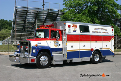 Lehigh Township Rescue 4741: 1990 Ford/Saulsbury