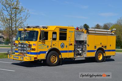 Nancy Run (Bethlehem Township) Engine 1411: 2008 Pierce Dash 1500/750/50