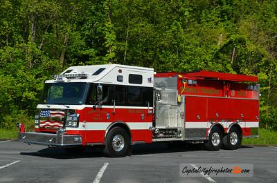 Bushkill Township Tanker 5231: 2014 Rosenbauer Commander 1500/3000