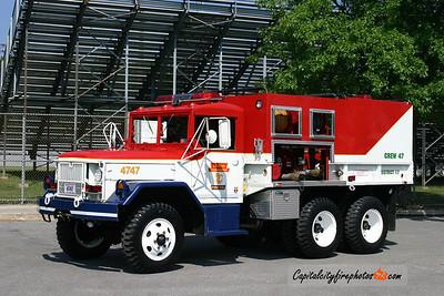 Lehigh Township Brush 4747: 1970 Jeep Kaiser 300/500