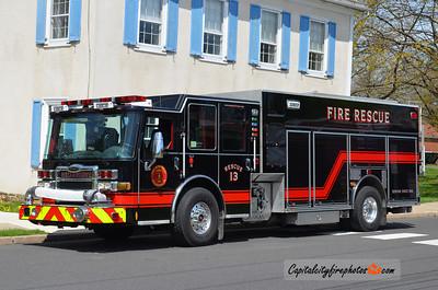 Hellertown (Dewey FC) Rescue 1311: 2012 Pierce Dash CF 1500/1000