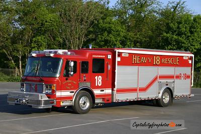Clifford Township (Susquehanna Co) Rescue 18: 2005 American LaFrance Eagle