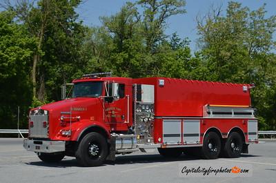 Herrick Township (Susquehanna Co.) Tanker 4-1: 2017 Kenworth/Sutphen 1250/3000
