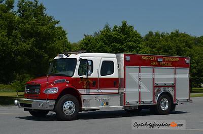 Barrett Township (Monroe Co.) Rescue 22-5: 2017 Freightliner/Ferrara