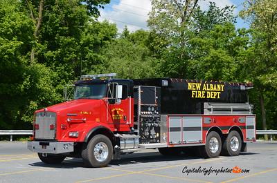 New Albany (Bradford Co.) Engine 8-3: 2018 Kenworth T800/Sutphen 1250/3000