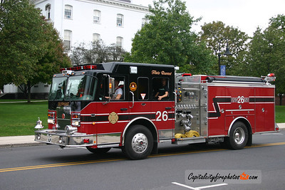 Olyphant (Lackawanna Co.) X-Engine 26: 2006 Spartan/Crimson 2000/1000 (* replaced in May 2018, sold to Basil Joint Fire District, Baltimore OH *)