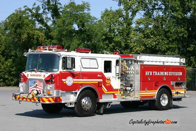Harrisburg Training Division (Fireman's Relief Association) 1988 Mack/Saulsbury 1500/600 (X-Jericho, NY)