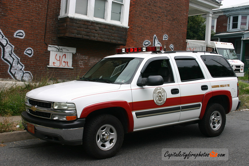 Harrisburg Battalion Chief: 2003 Chevy Tahoe