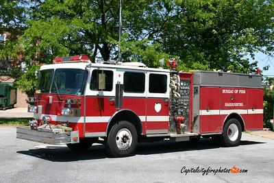 Harrisburg X-Reserve Squad: 1987 Sutphen 1500/500