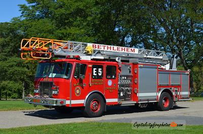 Bethlehem Engine 5: 1997 E-One Cyclone II 1500/500 75'