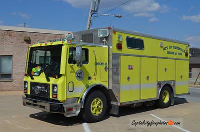 Coatesville (Chester Co.) Rescue 41: 1992 Mack MR/Saulsbury