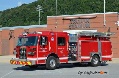 Johnstown Fire Department (Cambria Co) Engine 36-3: 2016 Sutphen 2000/750/30