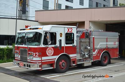 Pittsburgh Reserve Engine X2: 2001 Spartan/American LaFrance 1500/500 (X-Engine 24, 29)