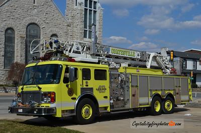 Coatesville (Chester Co.) Ladder 41: 2003 American LaFrance Eagle/LTI 2000/300 100'