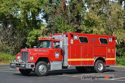 Baldwin #1 Rescue 105: 1986 Mack R/E-One