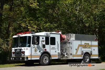 Penn Hills #3 (North Bessemer) Engine 223-2: 2009 Sutphen 1500/750
